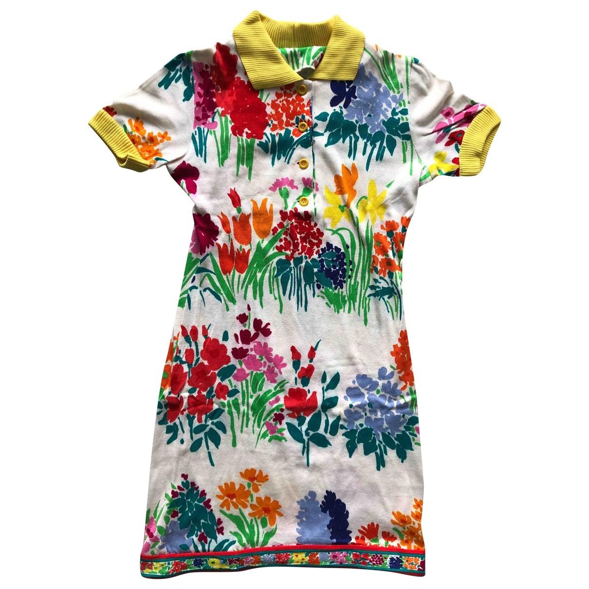 Leonard - Robe   pour femme en coton - multicolore