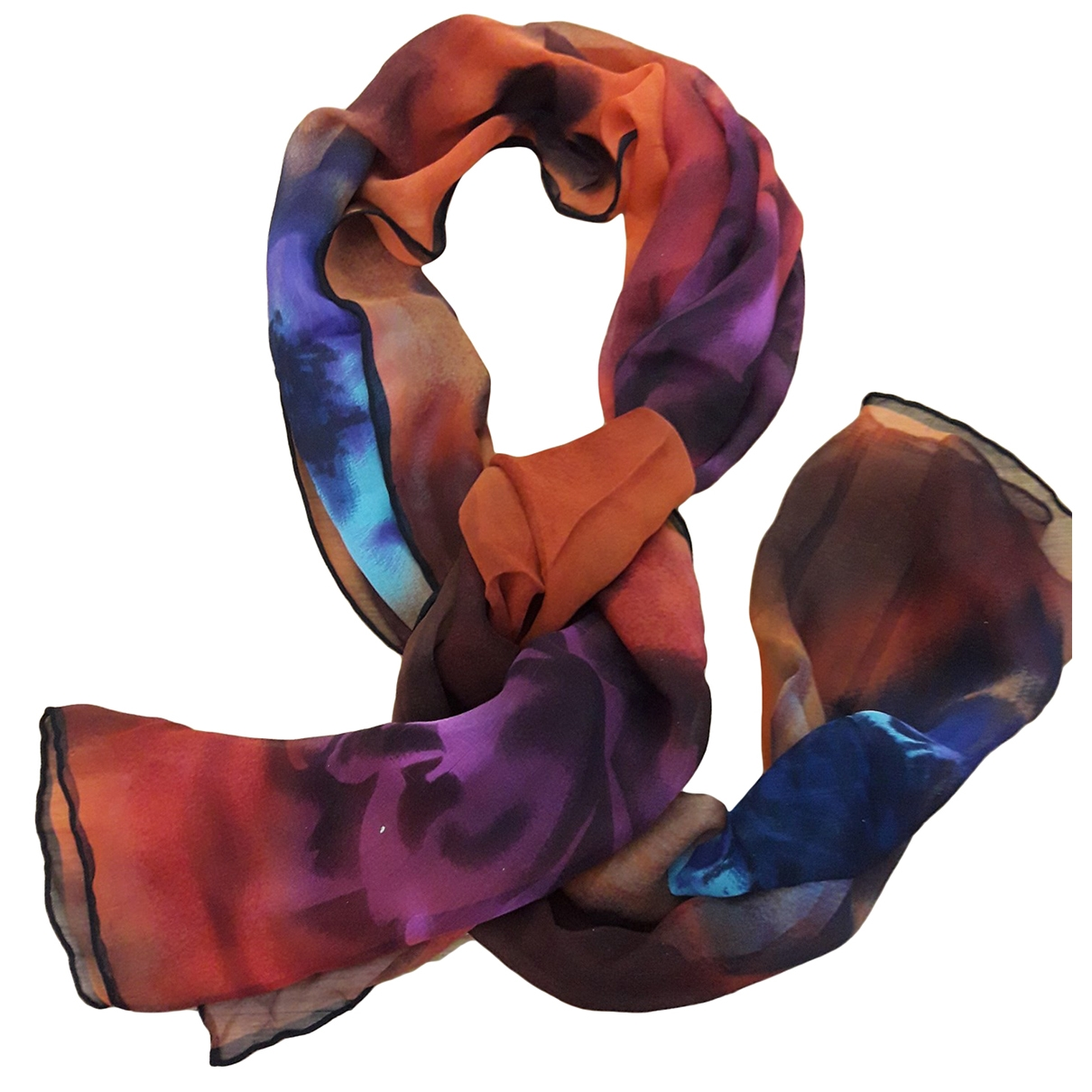 Basile \N Multicolour Silk scarf for Women \N