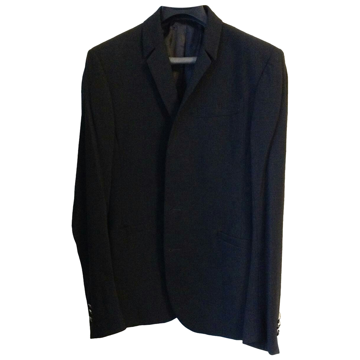Thierry Mugler - Costumes   pour homme en laine - anthracite