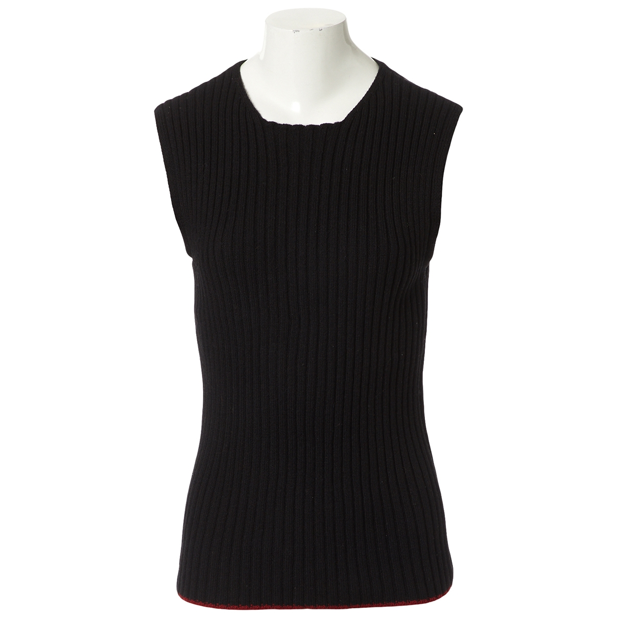 Jean Paul Gaultier - Pull   pour femme en laine - noir