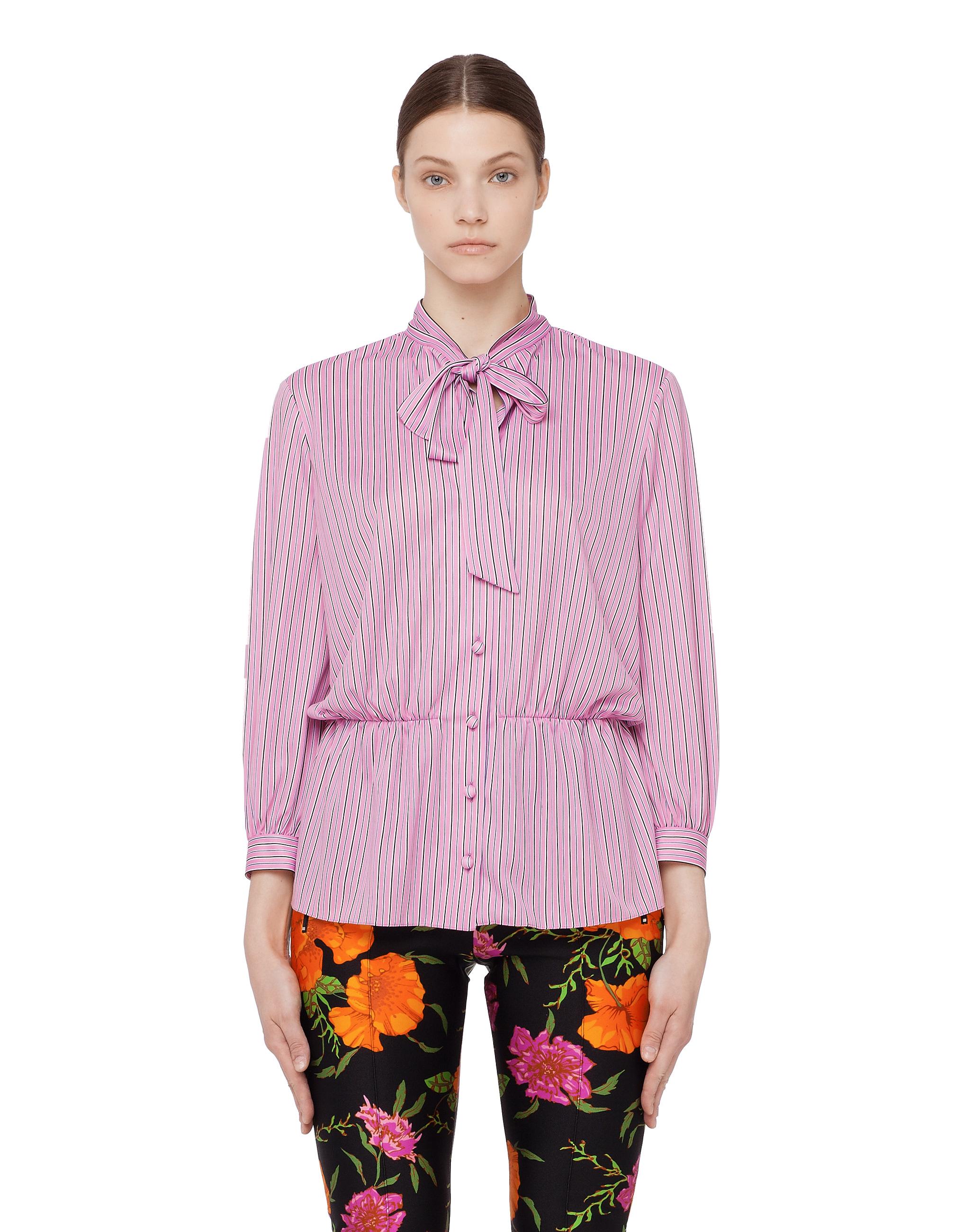 Balenciaga Lavalliere bow tie blouse