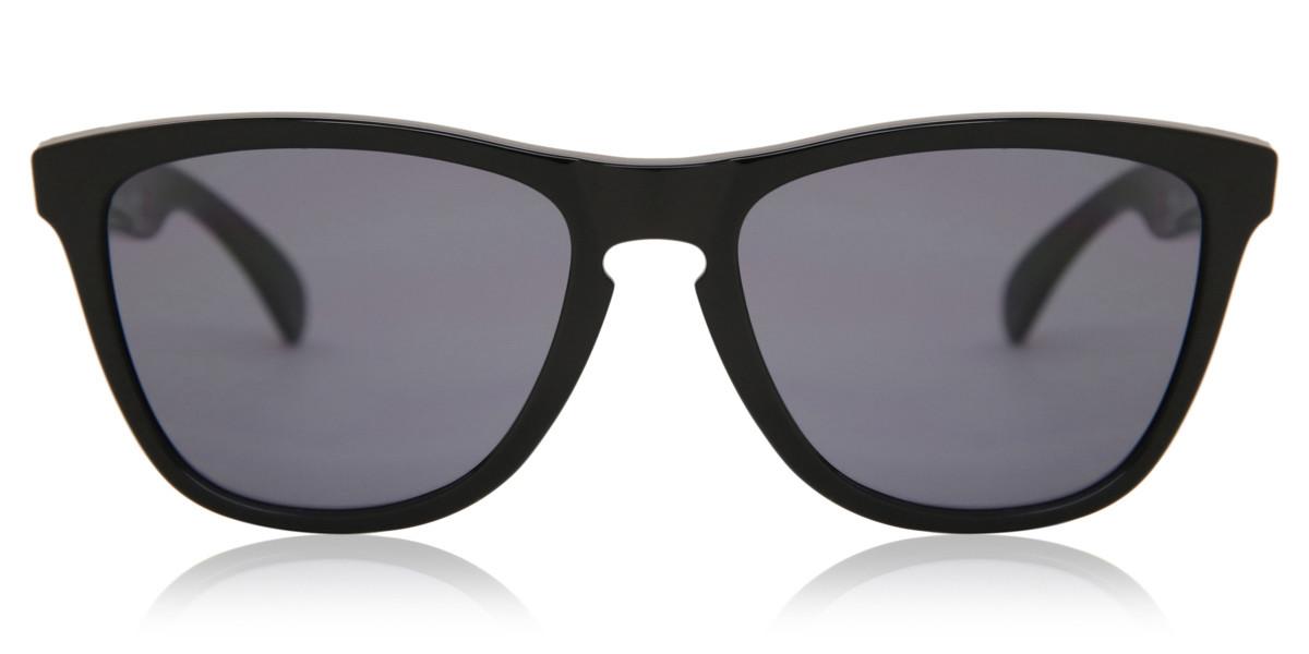 Oakley OO9013 FROGSKINS 24-306 Men's Sunglasses Black Size 55