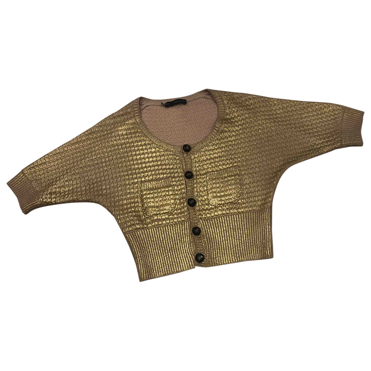 Dsquared2 \N Pullover in  Gold Baumwolle