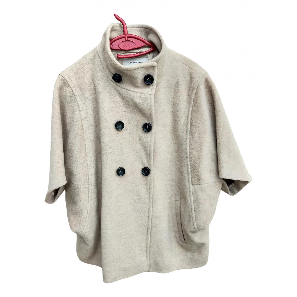 Gerard Darel - Veste   pour femme en laine - beige