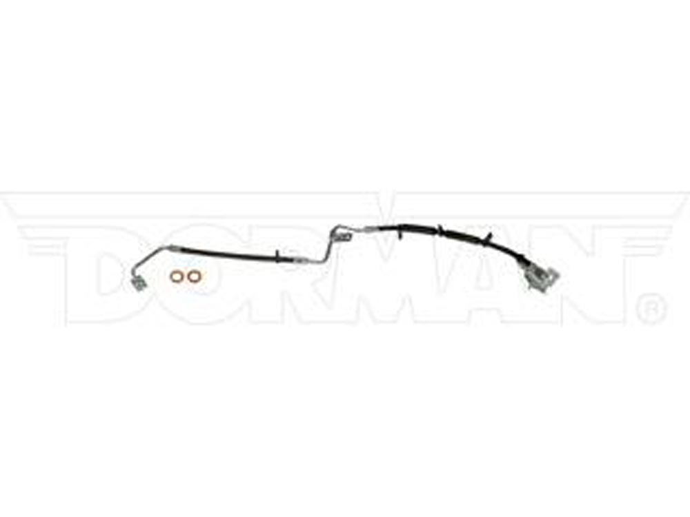 Fine Lines FLH621316 Brake Hose For 03-04 Jeep Grand Cherokee After 04/27/2003 Right Front Rubber
