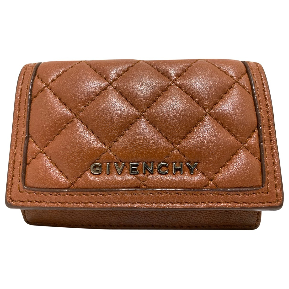 Givenchy \N Brown Leather Purses, wallet & cases for Women \N