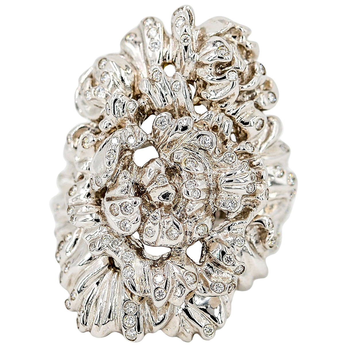 Repossi Neree Ring in  Silber Weissgold