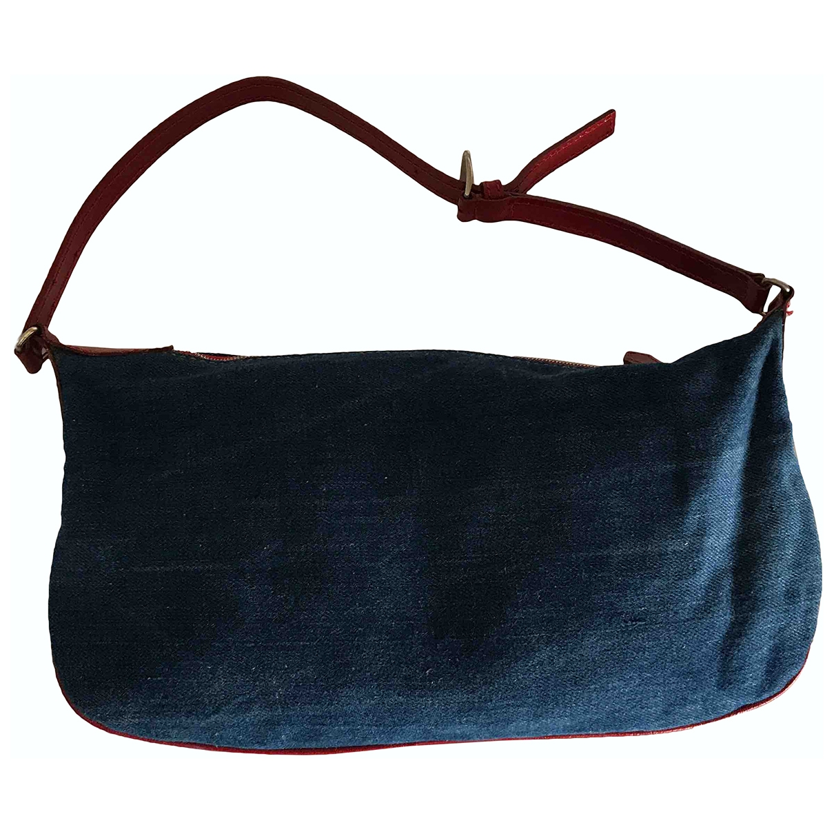 Valentino Garavani \N Clutch in  Blau Denim - Jeans