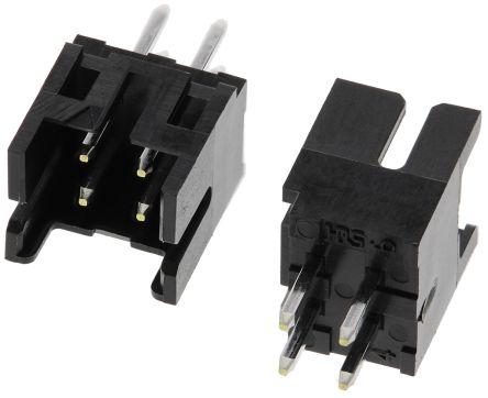 Hirose , DF11, 4 Way, 2 Row, Straight PCB Header (100)