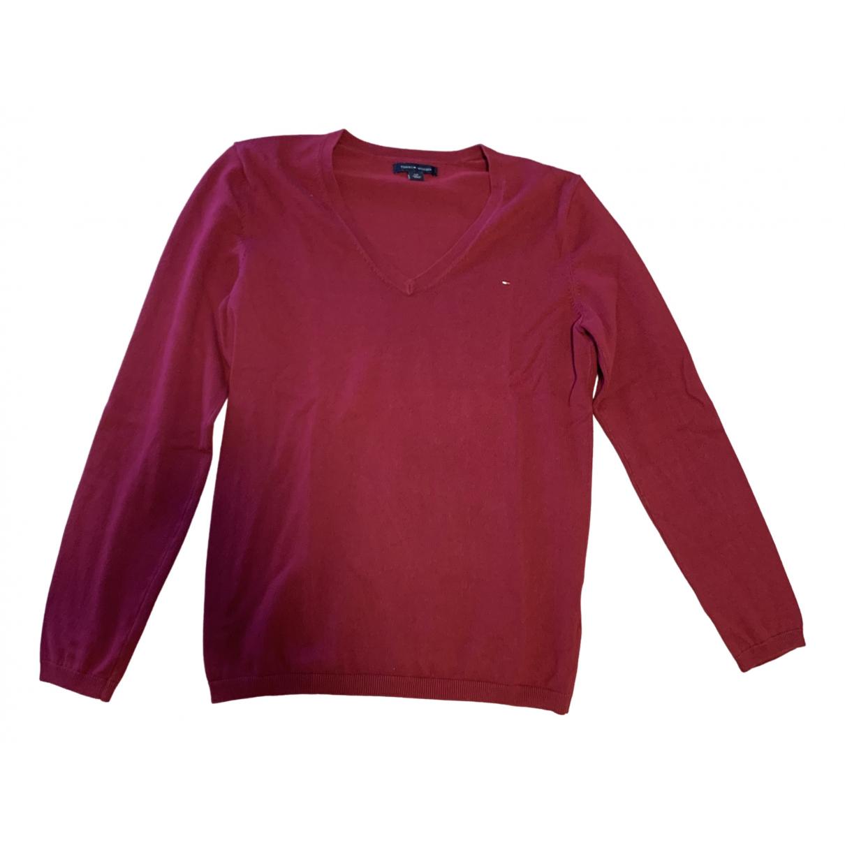 Tommy Hilfiger \N Pink Cotton Knitwear for Women S International
