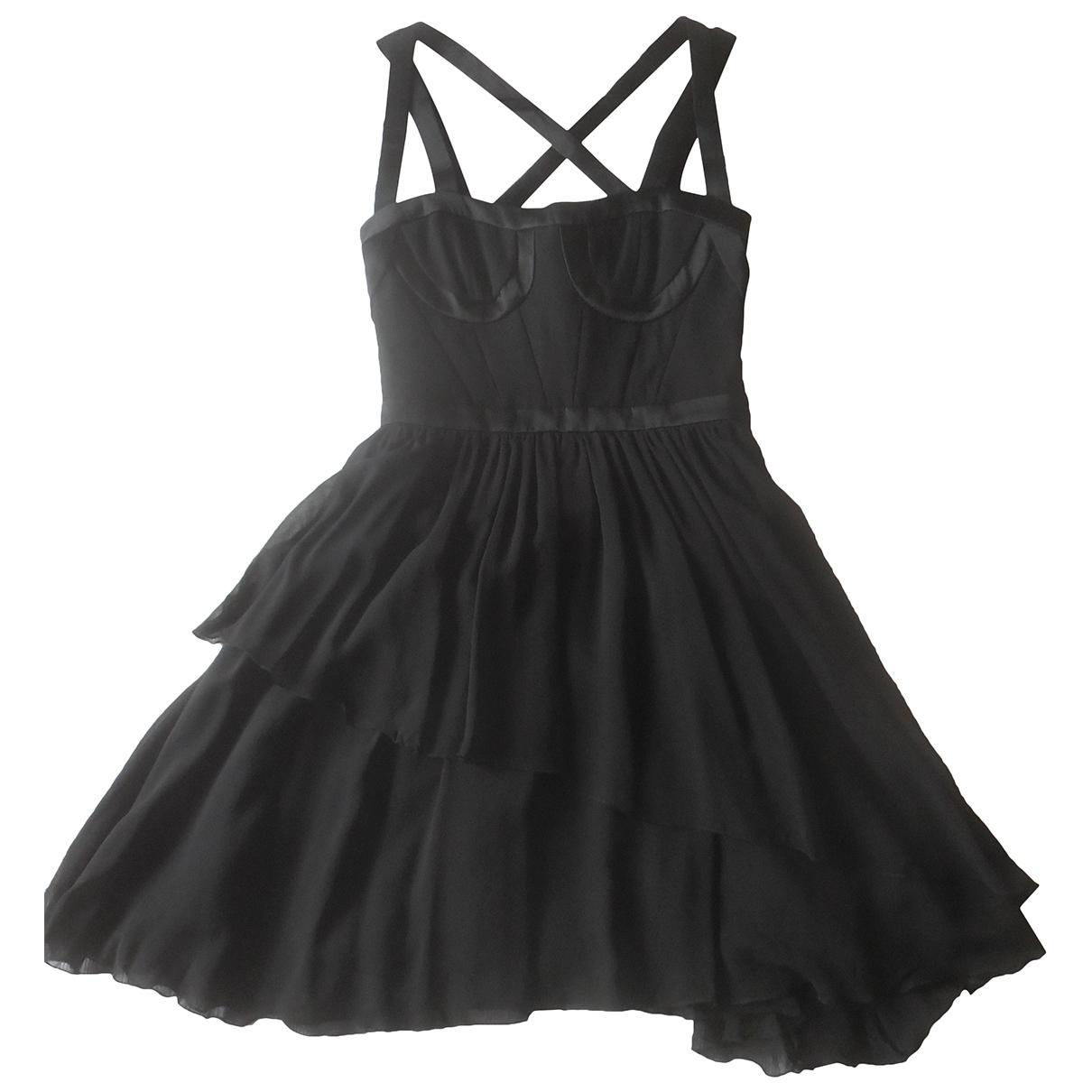 Versace X H&m - Robe   pour femme en soie - noir