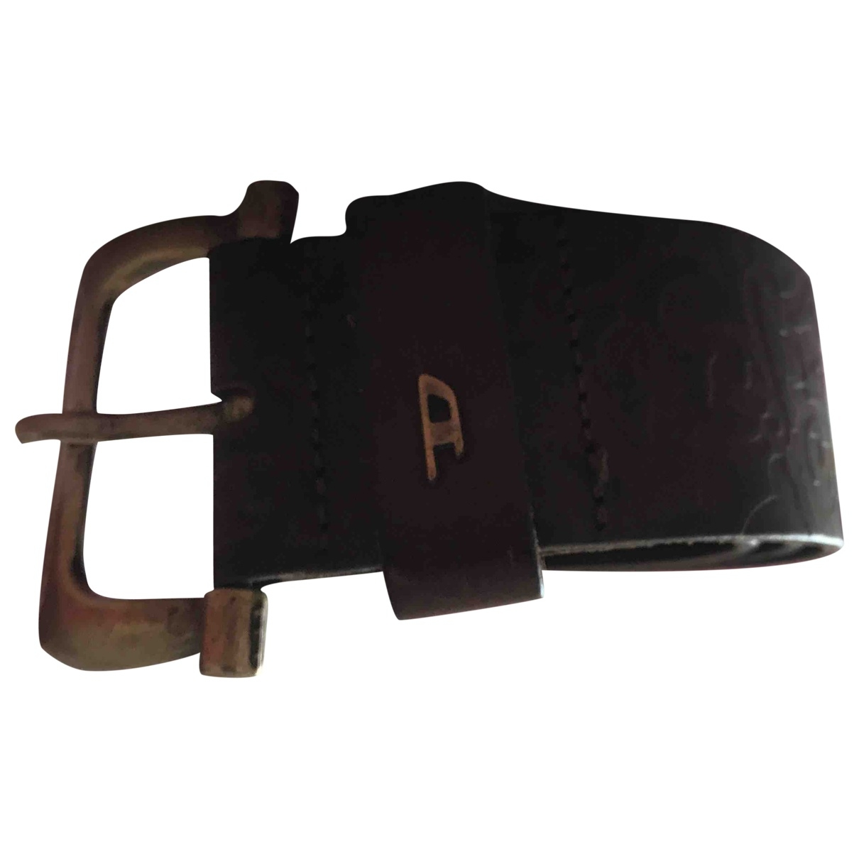 Diesel \N Brown Leather belt for Women 95 cm