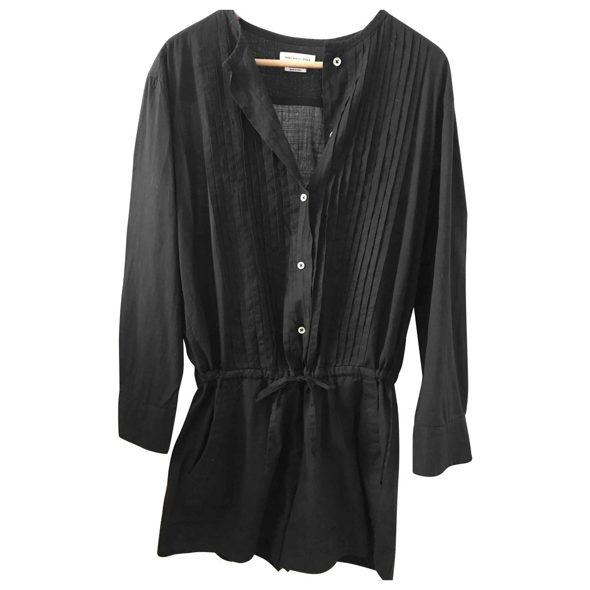 Isabel Marant Etoile - Combinaison   pour femme en coton - noir
