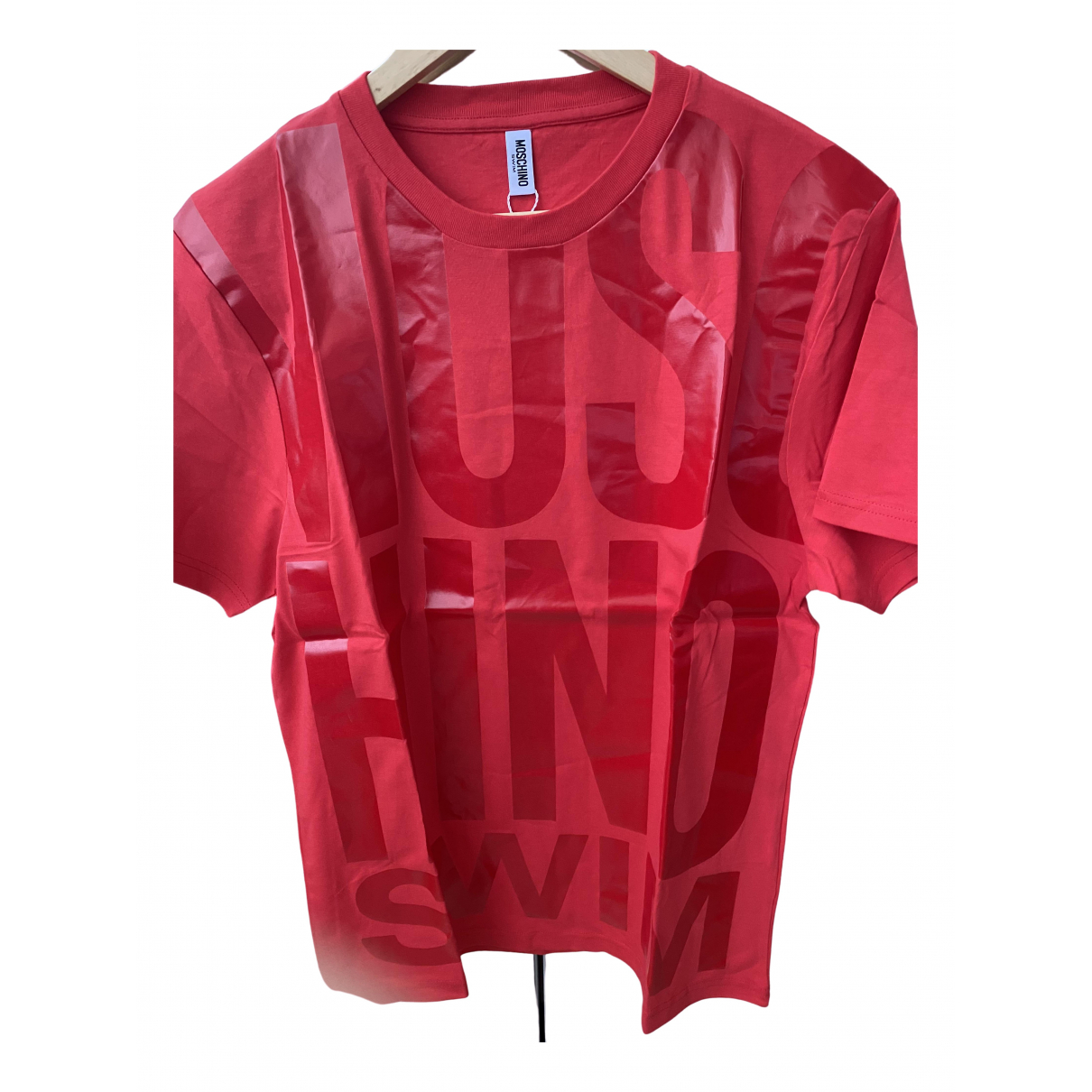 Moschino \N Red Cotton  top for Women S International