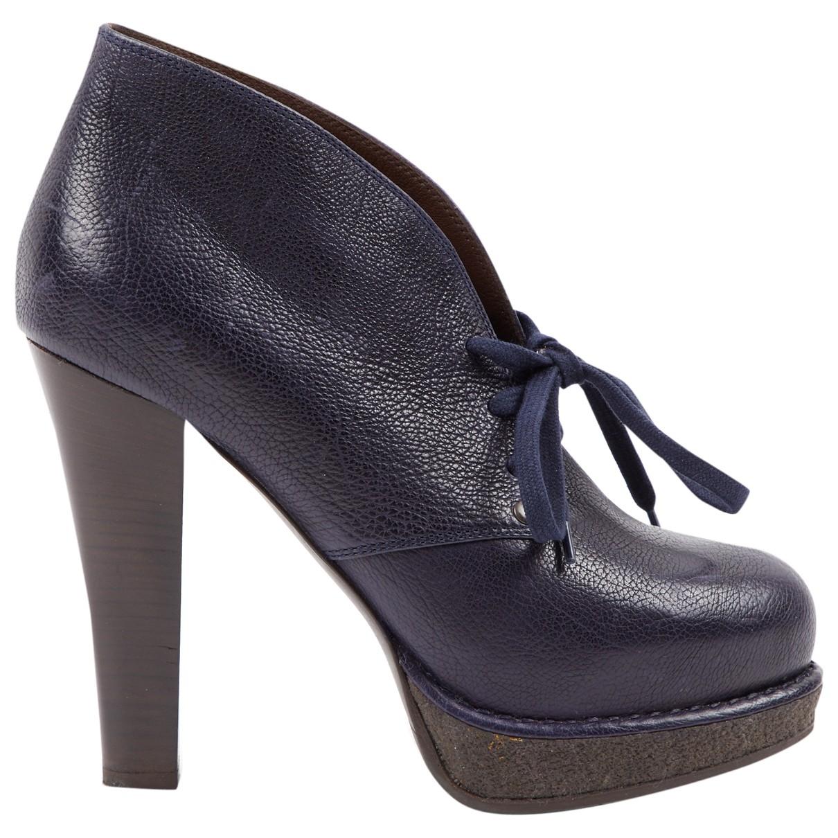 Bottega Veneta - Boots   pour femme en a paillettes - marine