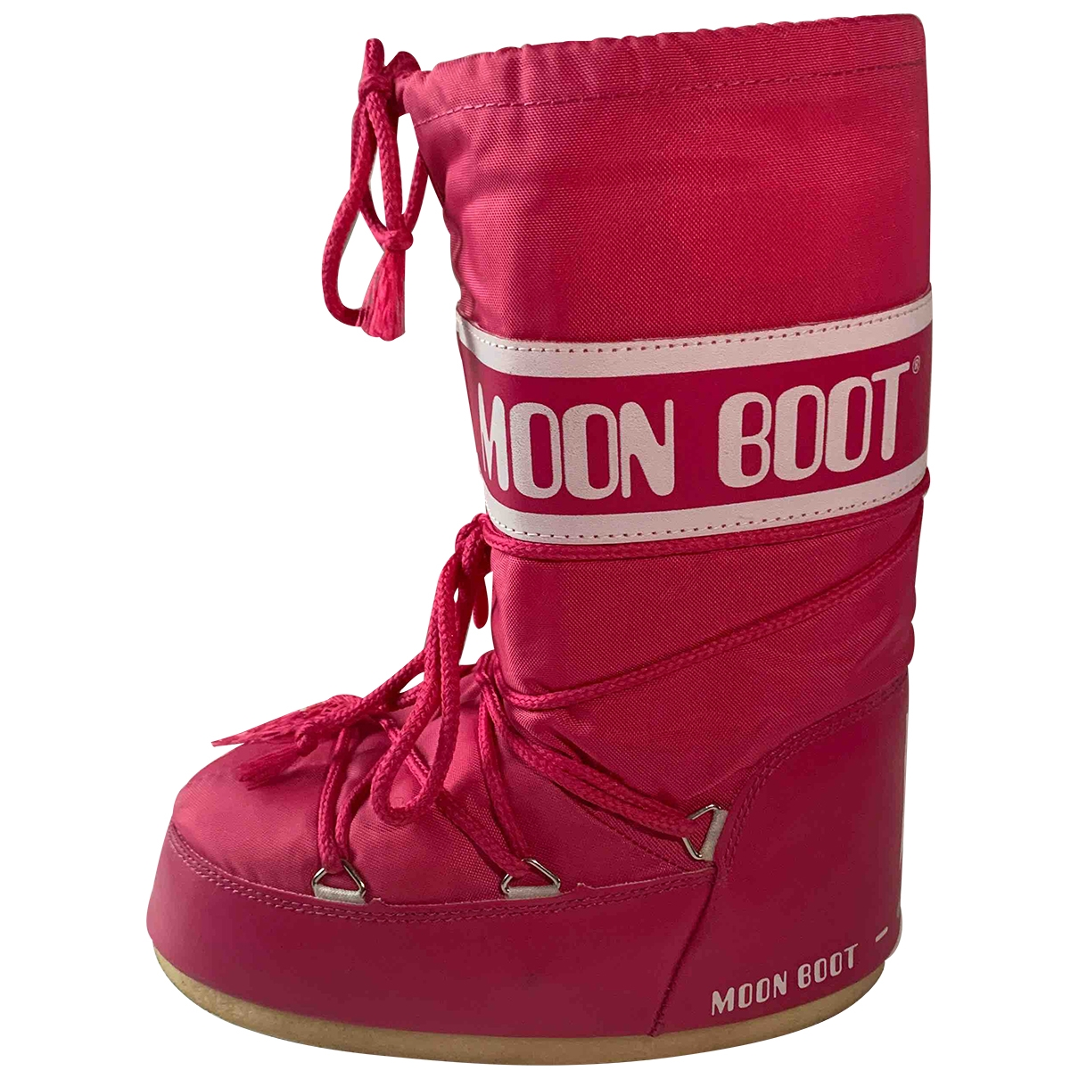 Moon Boot \N Pink Boots for Kids 34 EU