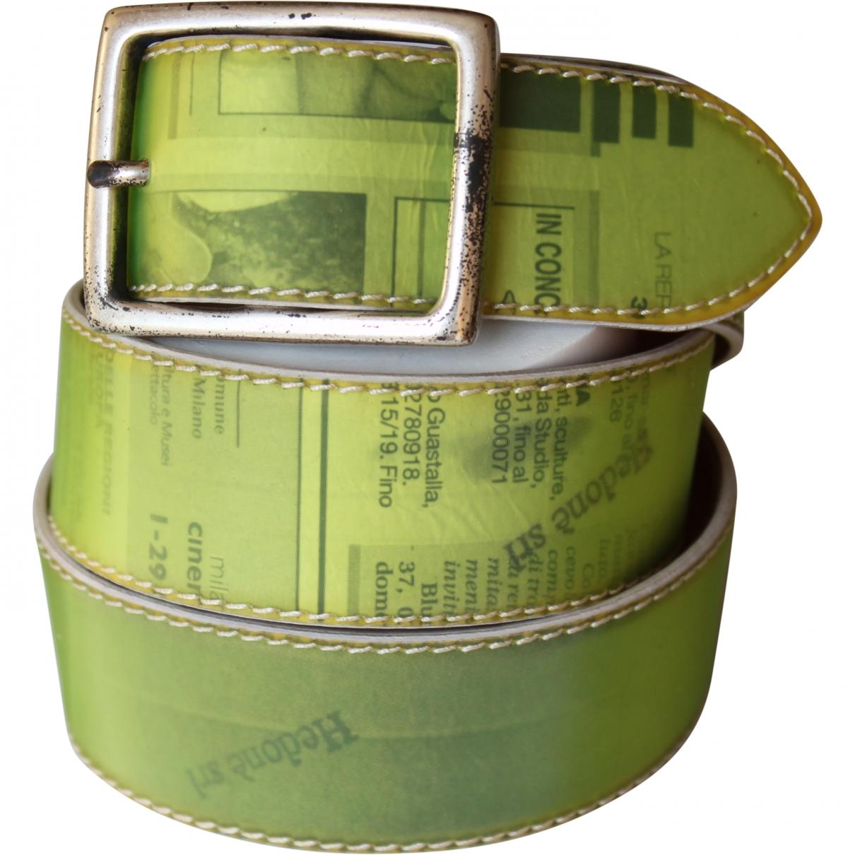 Hedoné \N Leather belt for Women 85 cm