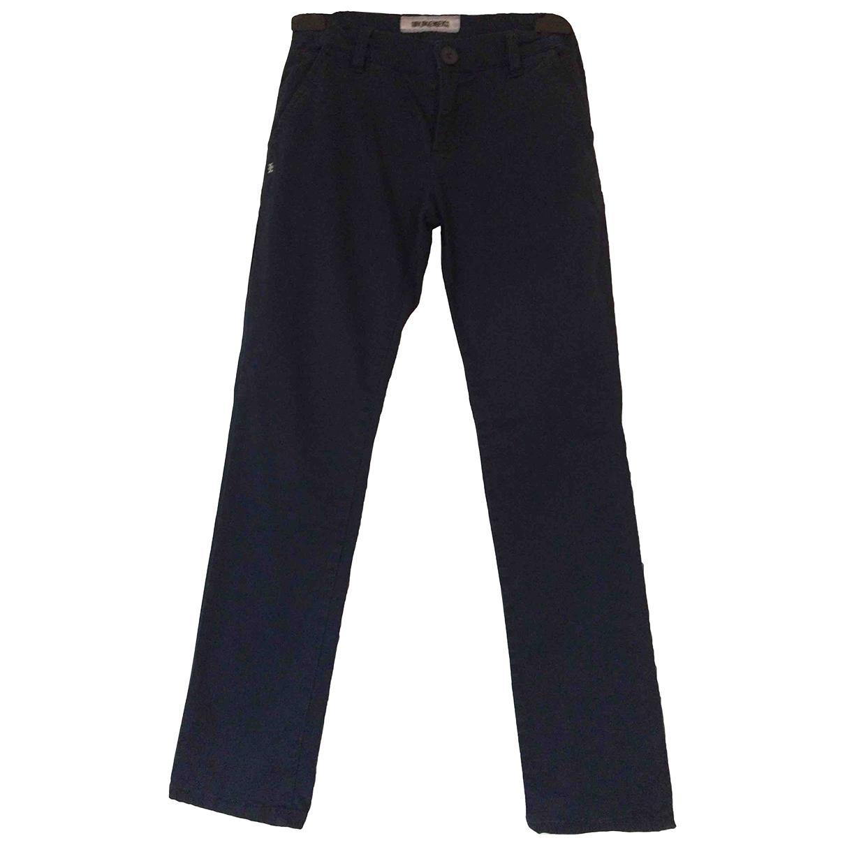 Dirk Bikkembergs - Pantalon   pour enfant en coton - bleu