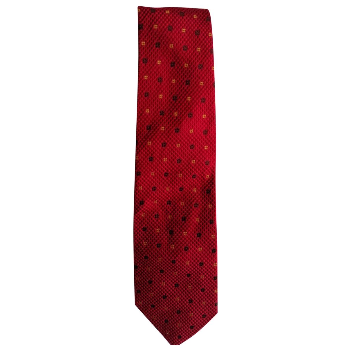 Balenciaga \N Krawatten in  Rot Seide