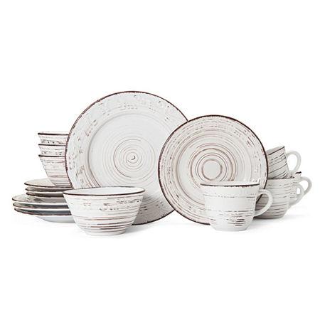 Pfaltzgraff Trellis 16-pc. Dinnerware Set, One Size , White