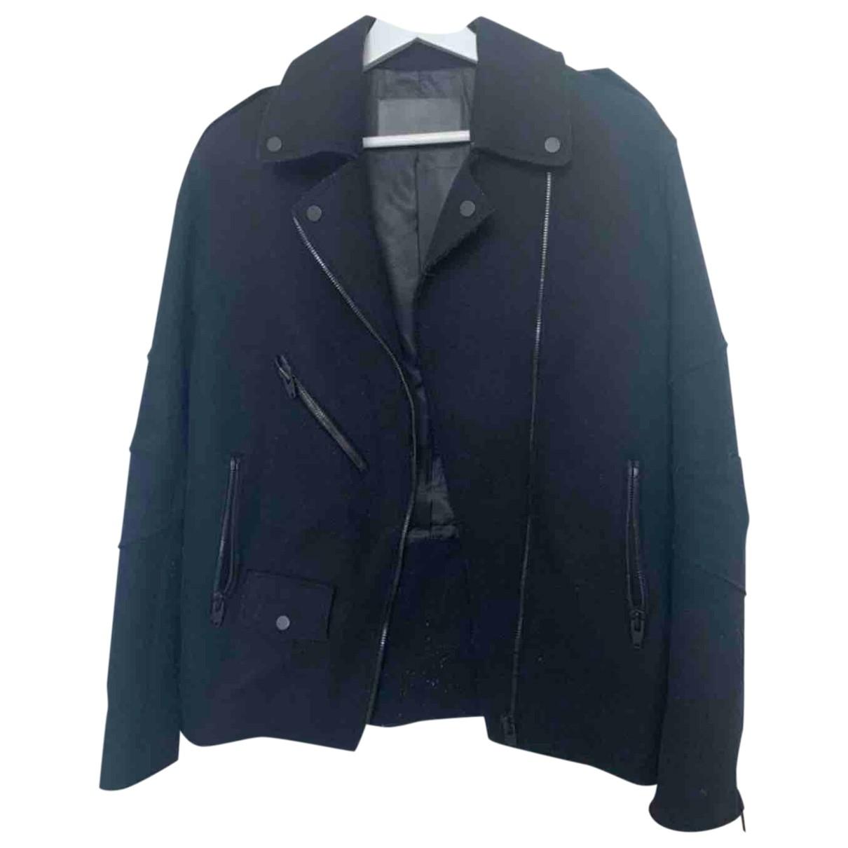 Alexander Wang Pour H&m \N Jacke in  Schwarz Wolle