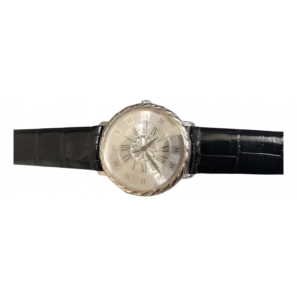 Buccellati \N Uhr in  Silber Weissgold