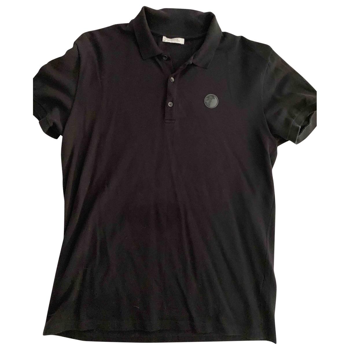 Versace \N Black Cotton Polo shirts for Men XXL International