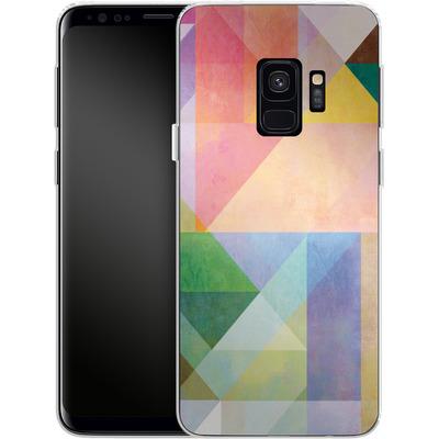 Samsung Galaxy S9 Silikon Handyhuelle - Color Blocking 1 von Mareike Bohmer