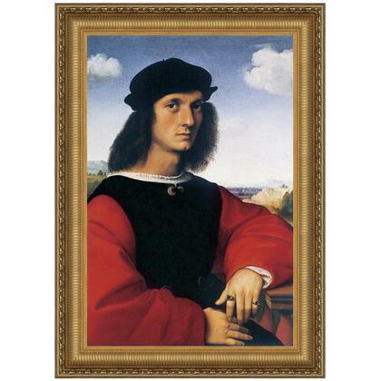 DA2963 27.5X38 Portrait Of Agnolo