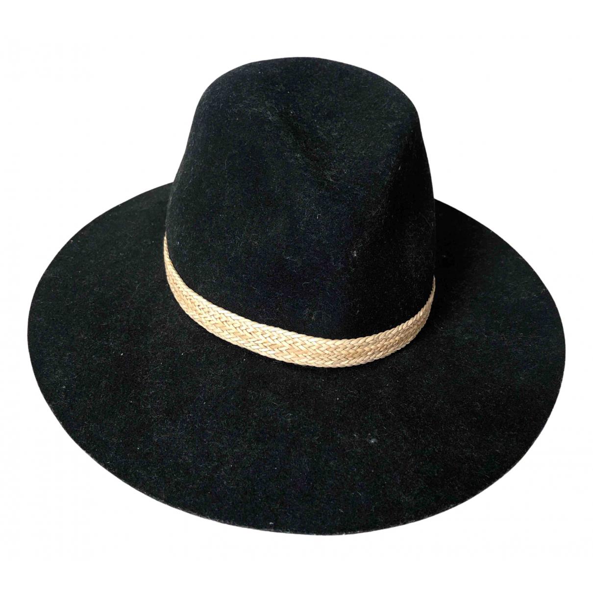 Rag & Bone N Black Wool hat for Women M International
