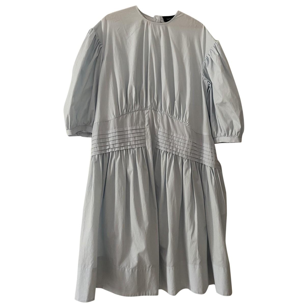 Simone Rocha \N Kleid in  Blau Baumwolle