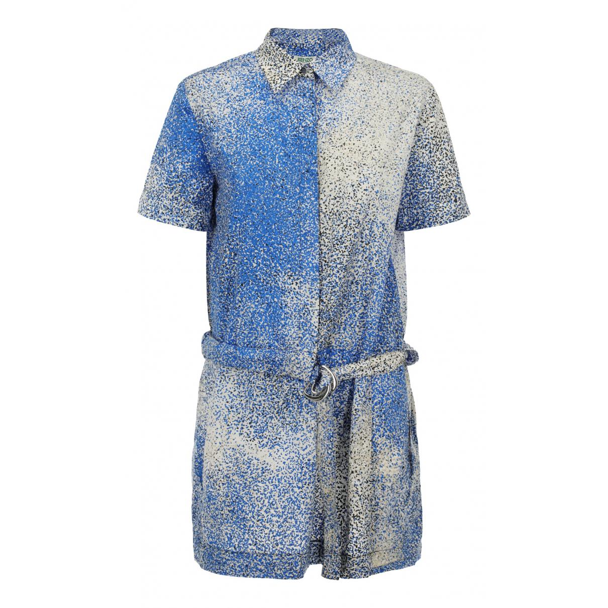 Kenzo \N Kleid in  Bunt Baumwolle