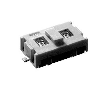 KNITTER-SWITCH Black Tactile Switch, SP5T 20 mA @ 15 V dc 5.7mm Surface Mount