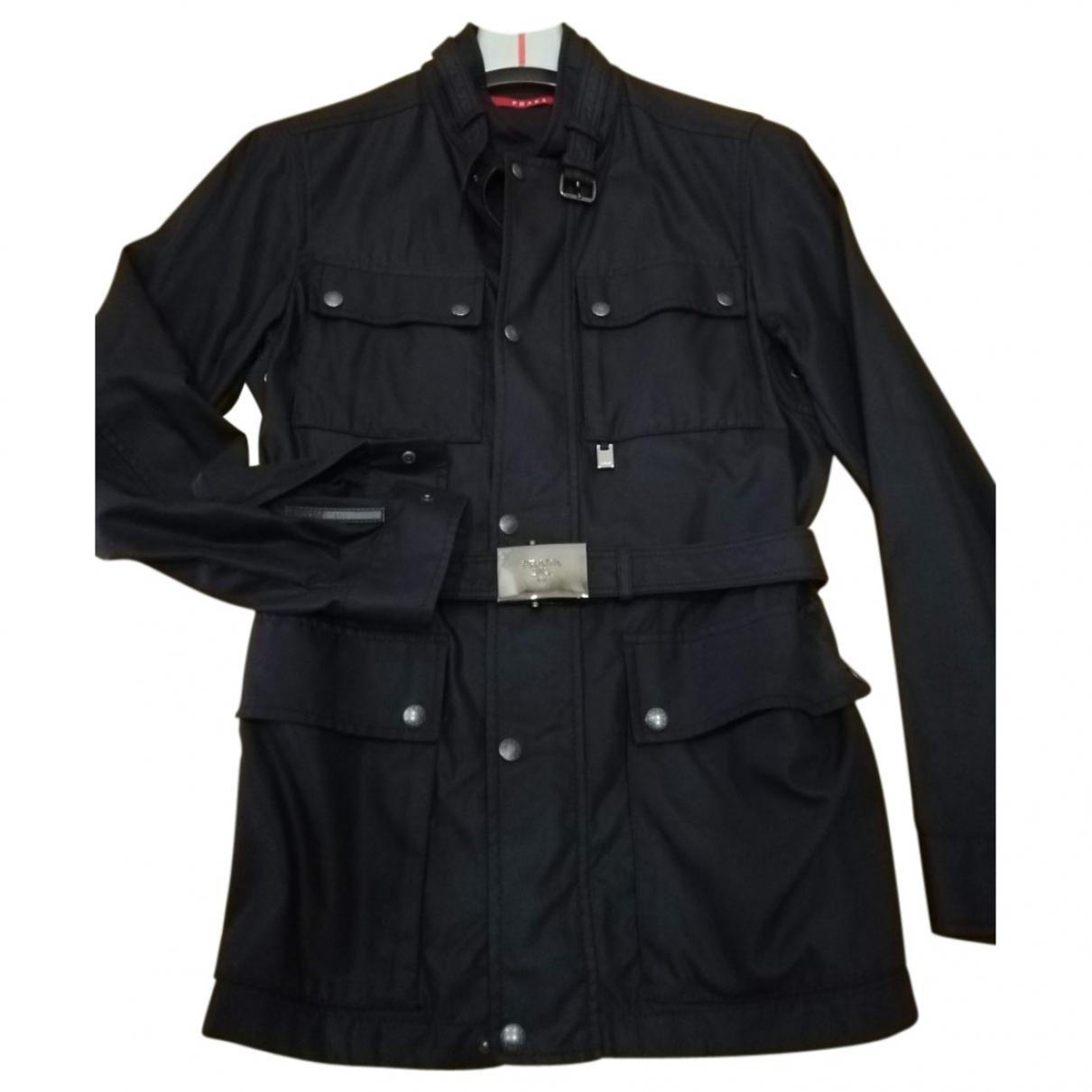 Prada \N Black coat  for Men 50 IT