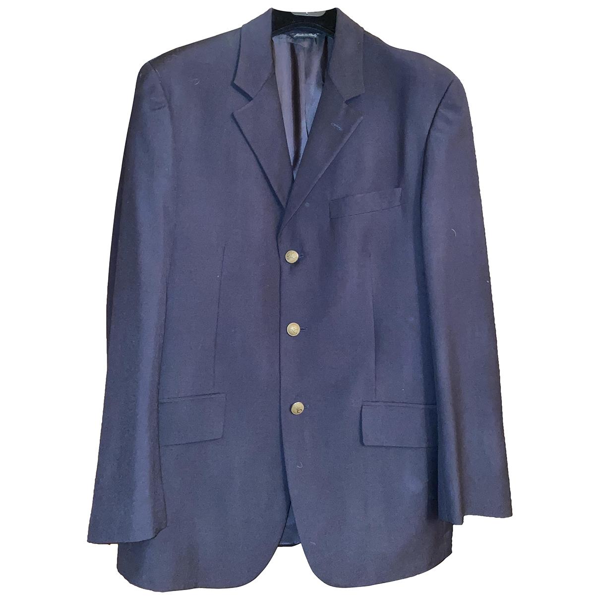 Moschino Cheap And Chic - Vestes.Blousons   pour homme en laine - bleu