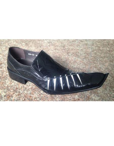 Mens Slip One Black Shoe