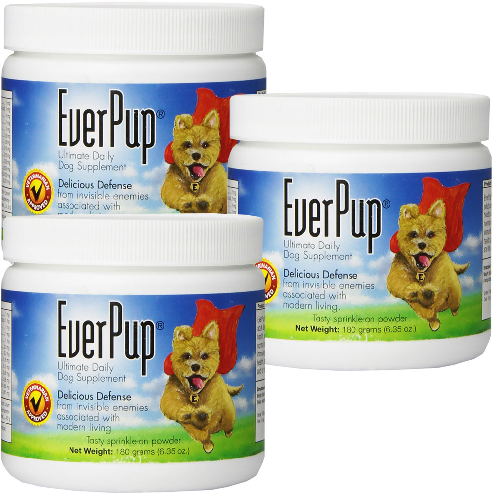 EverPup Ultimate Daily Dog Supplement 3-PACK (6.35 oz)