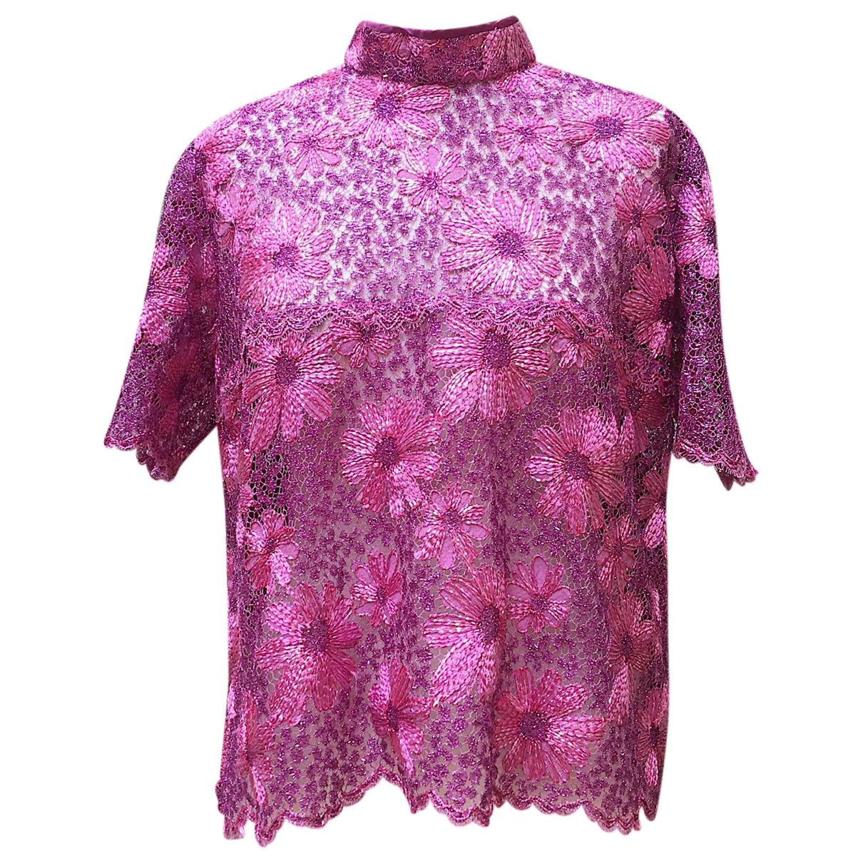 Non Signé / Unsigned \N Pink  top for Women M International