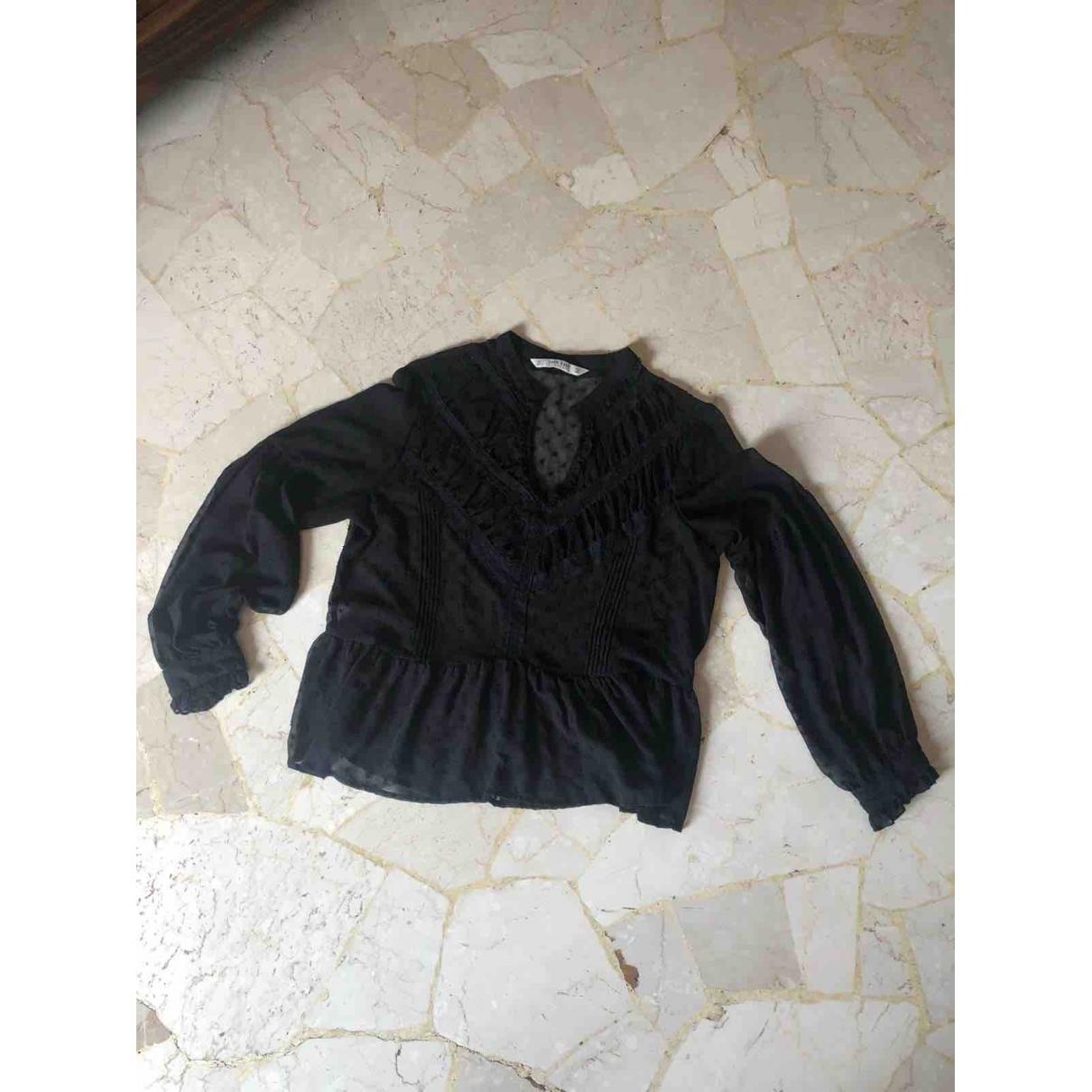 Zara \N Black  top for Women L International