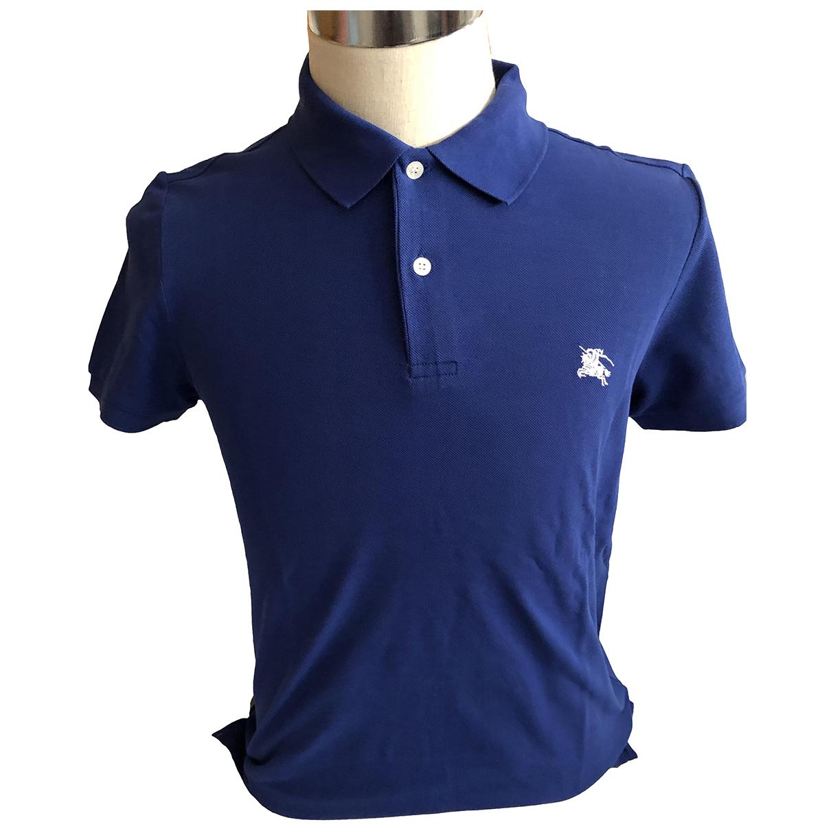 Burberry \N Poloshirts in  Blau Baumwolle