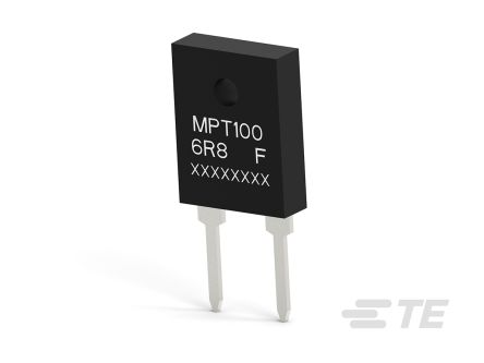 TE Connectivity Power Film Through Hole Fixed Resistor 100W 1% MPT100A6R8F (35)