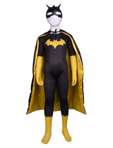 Milanoo Halloween Multi Color Unisex Superhero Lycra Multicolor Full Body Zentai Suits Halloween