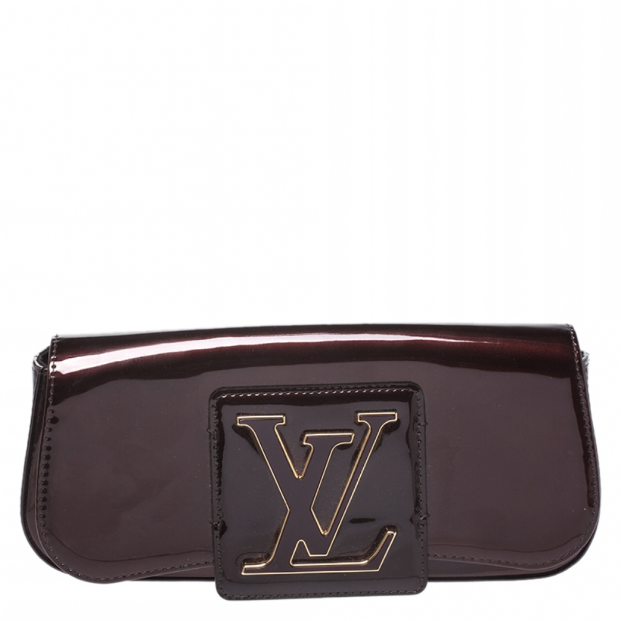Louis Vuitton N Burgundy Patent leather Clutch bag for Women N