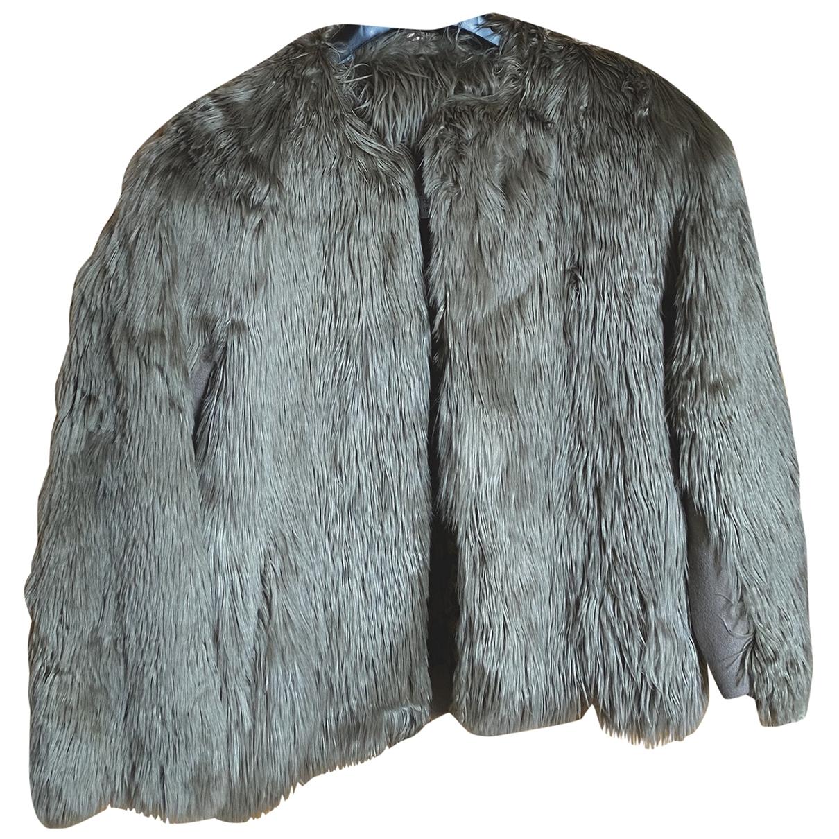 Maison Martin Margiela \N Grey Fur jacket for Women 42 IT