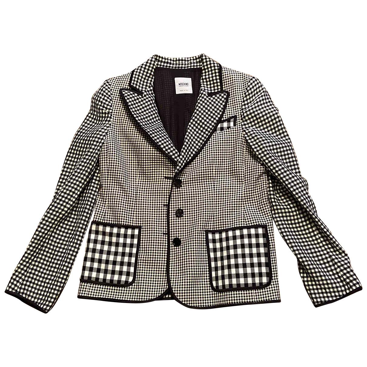 Moschino Cheap And Chic - Veste   pour femme en coton - multicolore