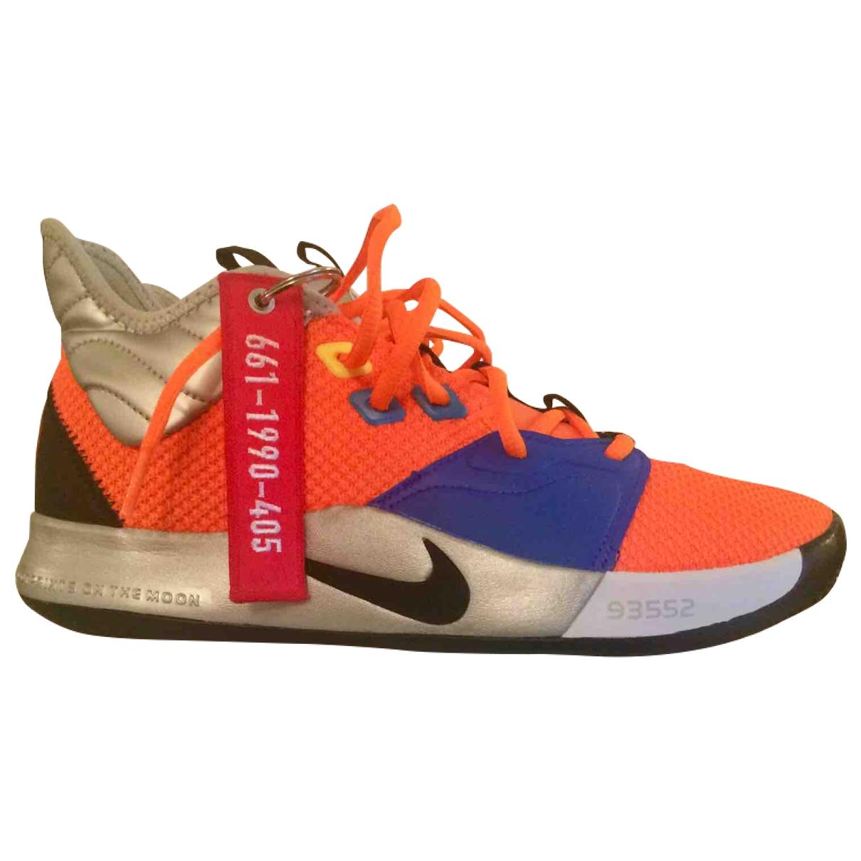 Nike \N Orange Cloth Trainers for Men 9 US