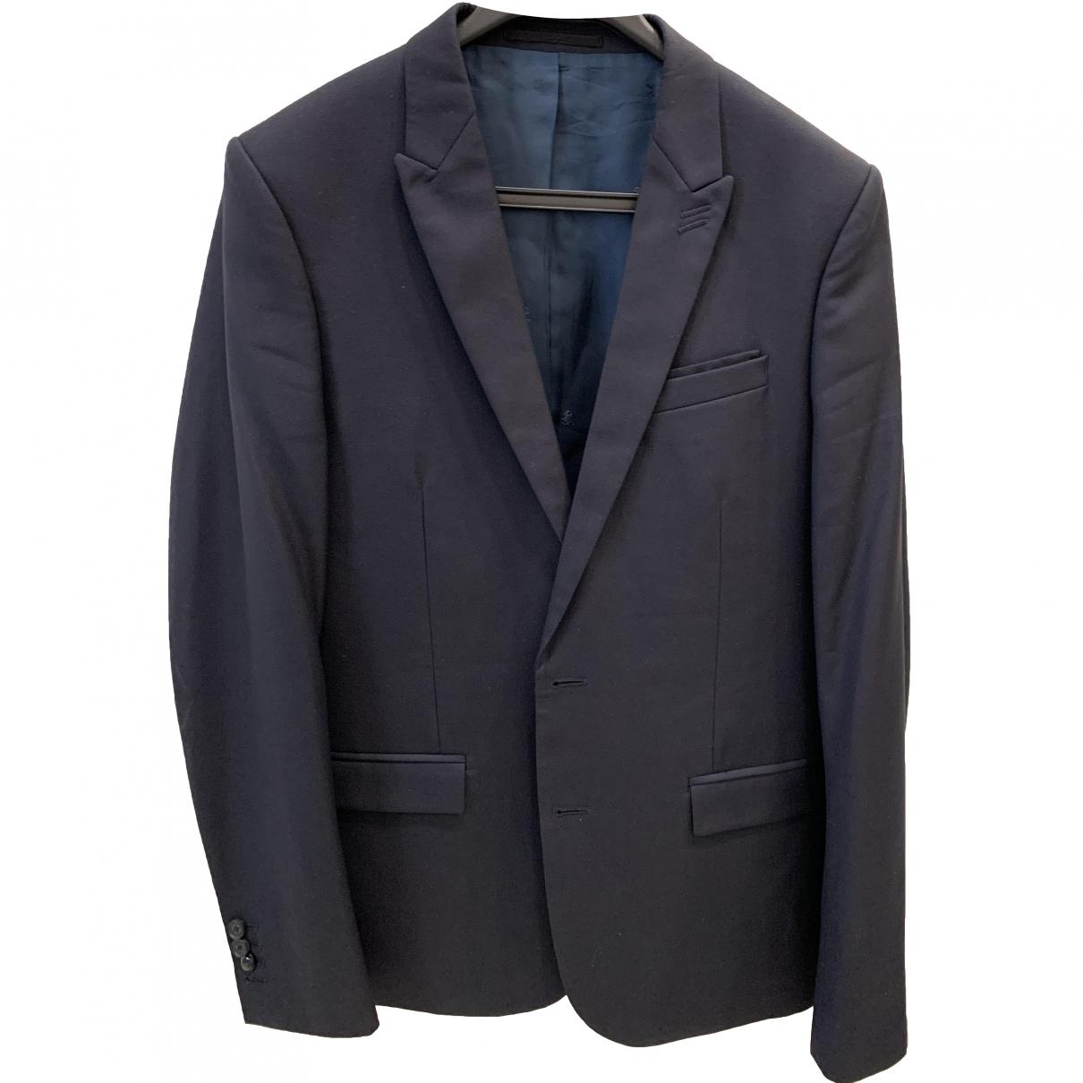 The Kooples \N Navy Wool Suits for Men 48 FR
