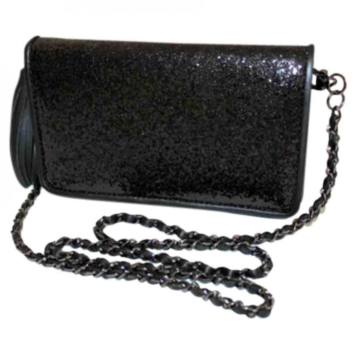 Zara \N Handtasche in  Schwarz Mit Pailletten
