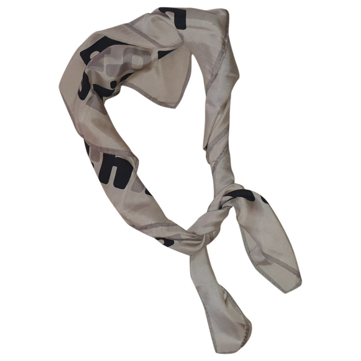 Non Signé / Unsigned \N Silk scarf for Women \N