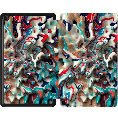 Amazon Fire 7 (2017) Tablet Smart Case - Weird Surface von Danny Ivan